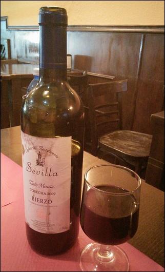 Mencía - vino típico de Bierzo