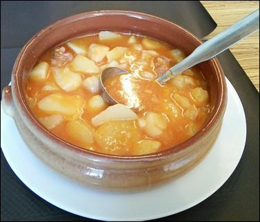 Patatas a la Riojana -  Navarrete