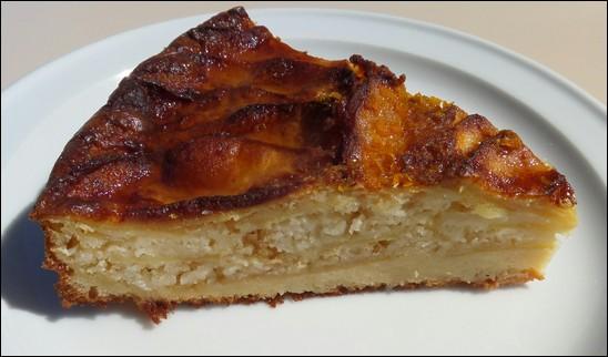Tarta de manzana - Triacastilla