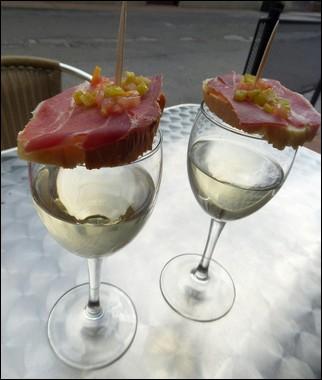 Vino y tapa - Vega de Valcarce