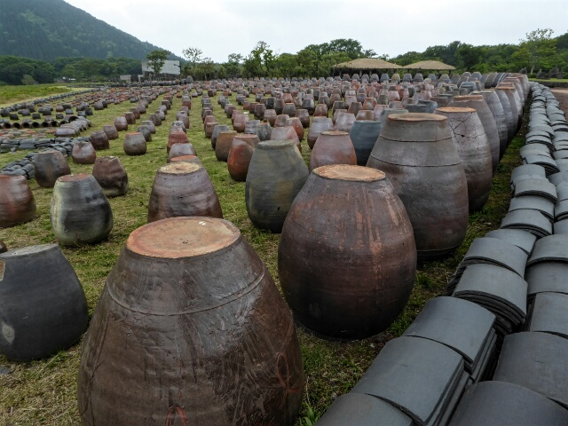 Sublime simple beauty of Jeju earthenware