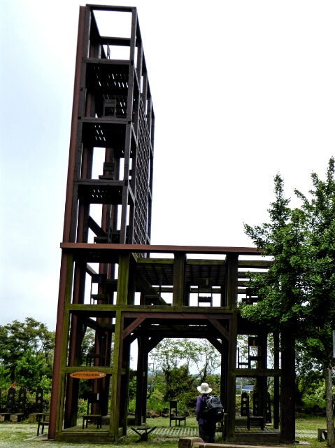 3 story high chair at the Chair Park