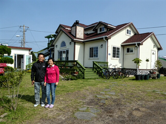 We enjoyed 2 nights at Neulpureun Guesthouse near Moseulpo