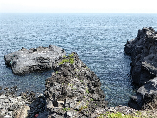 It's a very nice walk along the coastal cliffs for an hour or so on Route 16