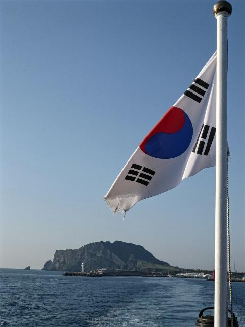 Leaving Seongsan for Udo Island