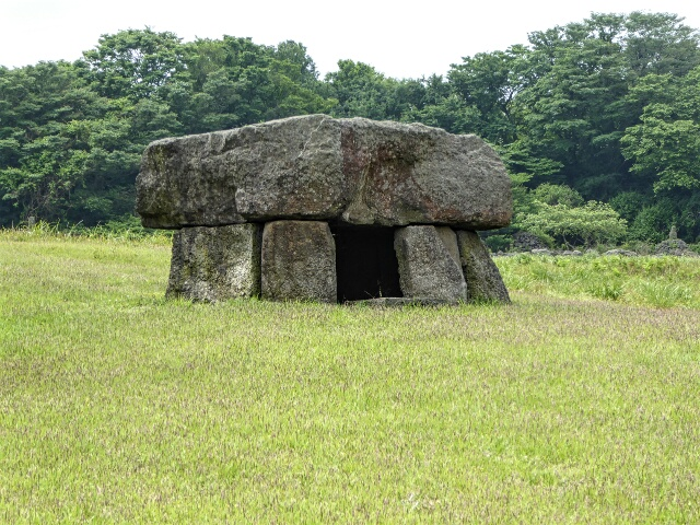 Dolmen - stone tomb - from Western Jeju, possibly 1st century AD