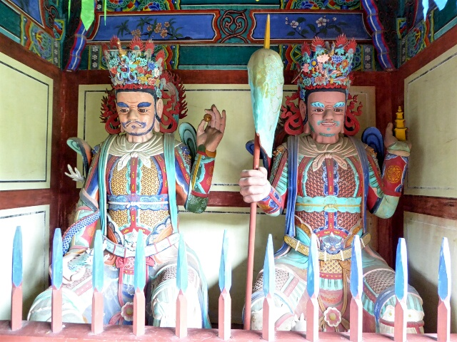 Seongwangsa Temple Guards