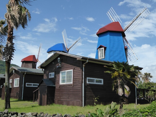 Stayed at the Windmill Guesthouse - finally the weather is clearing
