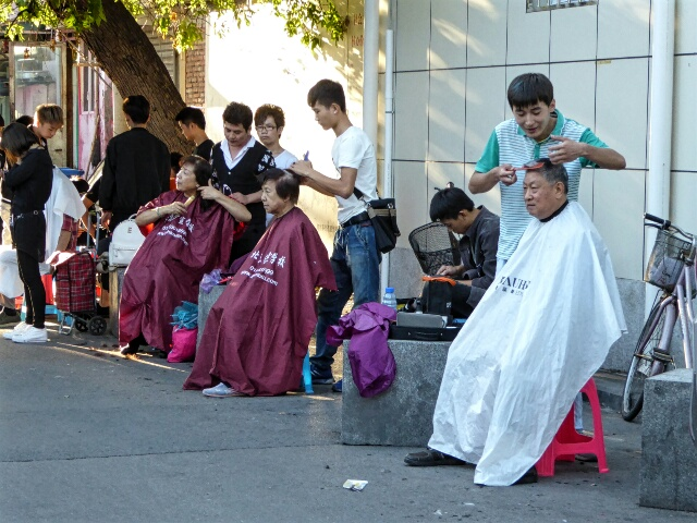 Local barbershop