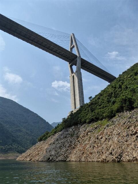 New bridge across Shennong Stream