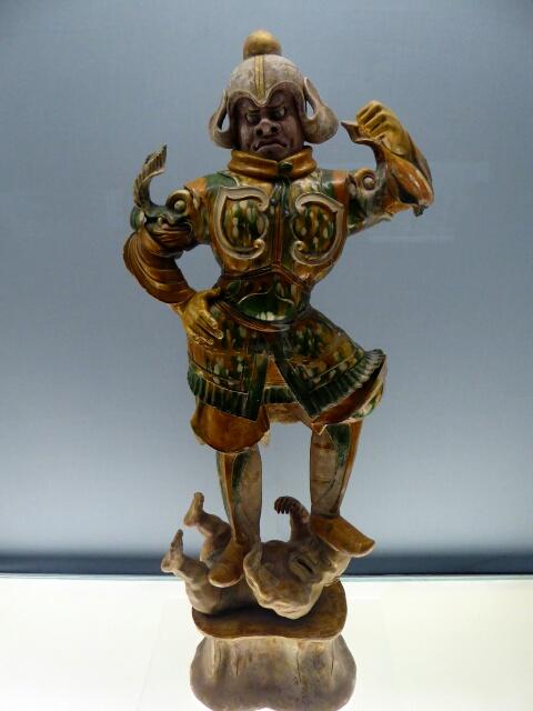Heavenly Guardian, 7th Century, in Shanghai Museum