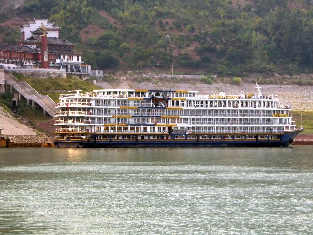 Back to our cruise ship to continue on the Yangtze