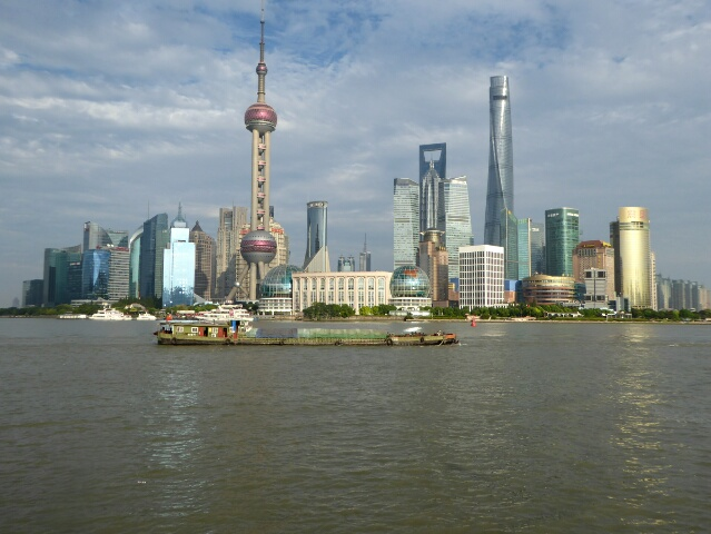 Pudong - 25 years ago it was farmland