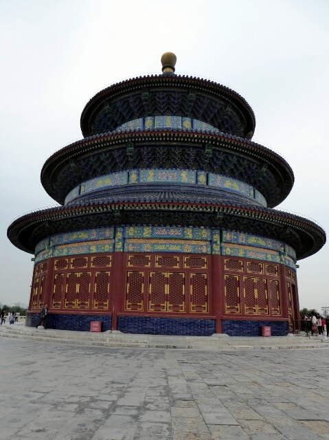 Temple of Heaven built 1420 for the Emperors to pray for bumper crops