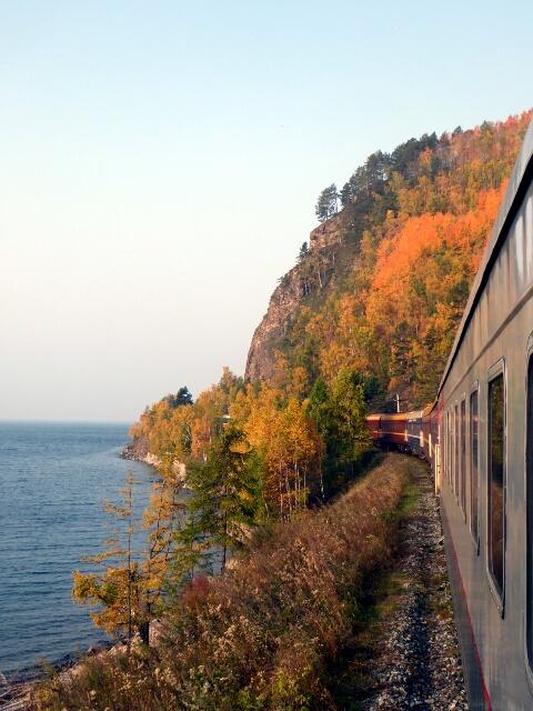 Along Lake Baikal
