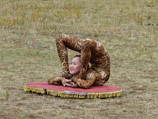 This Mongolian contortionist can do the impossible!