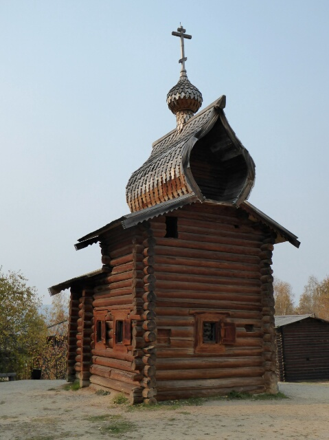 Saviour's Tower of Ilimsk Stockaded Town (1667)