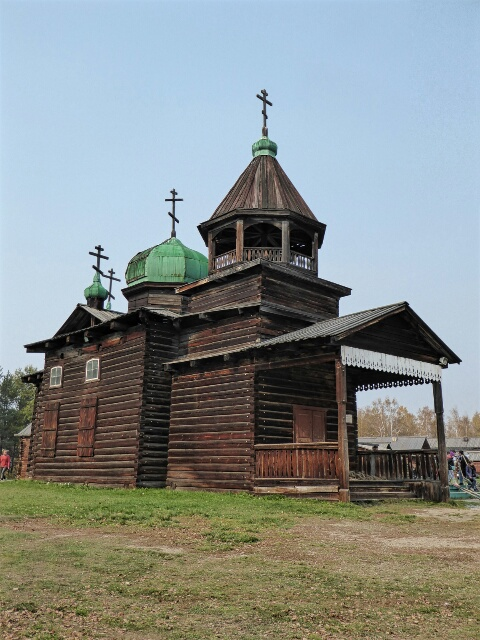 Wooden Church used by Cossacks