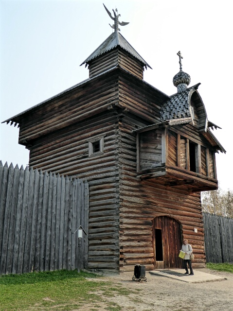 Cossack Fort, reconstructed at Talzy near Lake Baikal