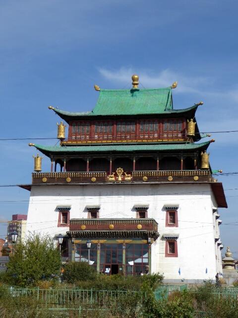 Gandantegchinlen Monastery houses ...