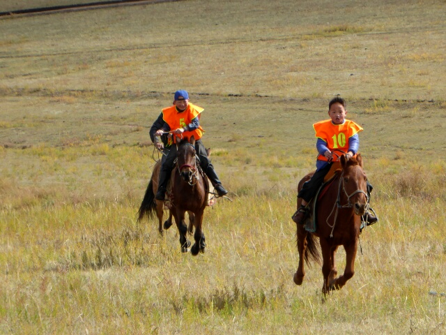 Horse racing - boys start riding at 4 years old