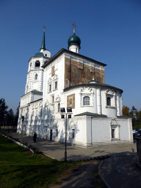 Church of Our Saviour, Irkutsk, built 1706