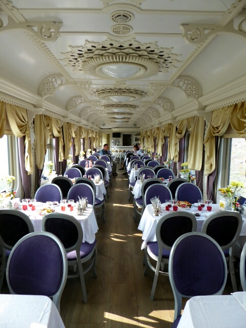 Tzar's Gold dining car