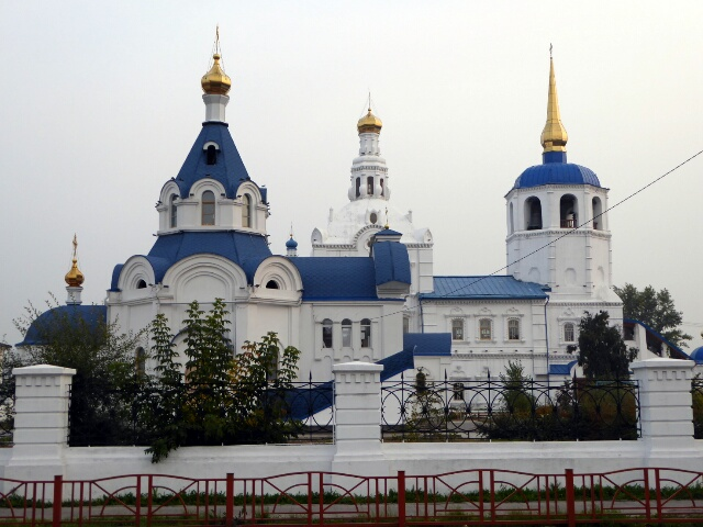 Ulan-Ude's Orthodox Church (1741)