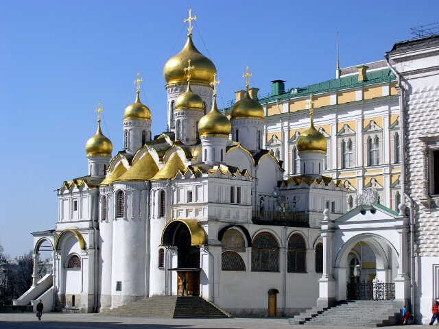 Cathedral of the Annunciation inside the Kremlin