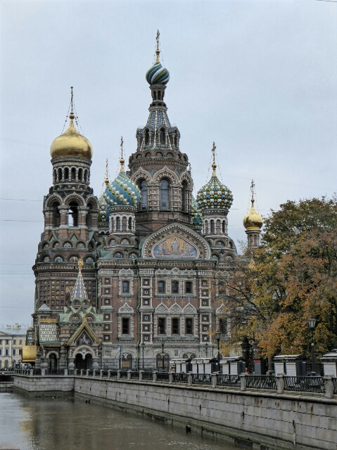 Church of the Spilled Blood - Tzar Alexander II was fatally wounded here