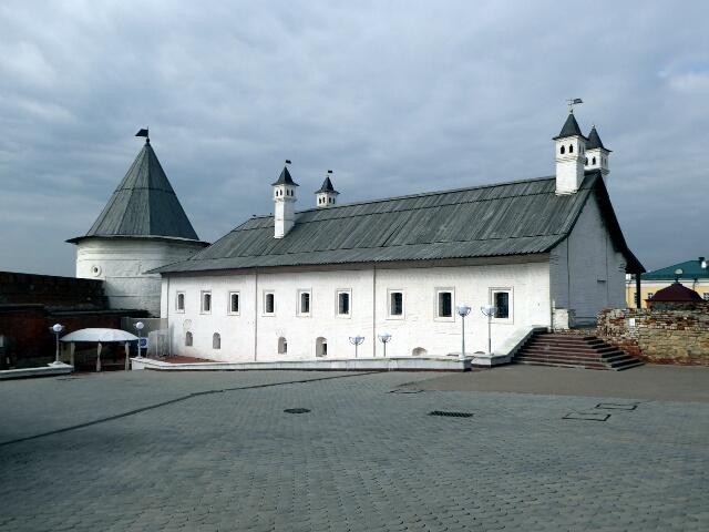 Inside the Kremlin of Kazan