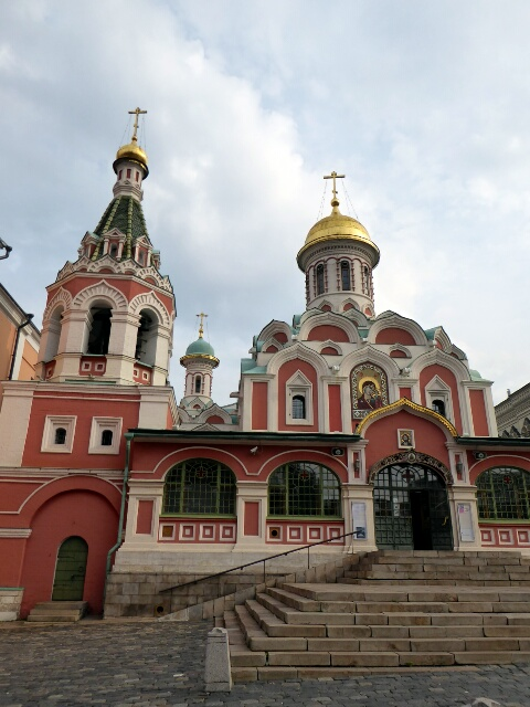 Kazan Cathedral on Red Square, consecrated 1636