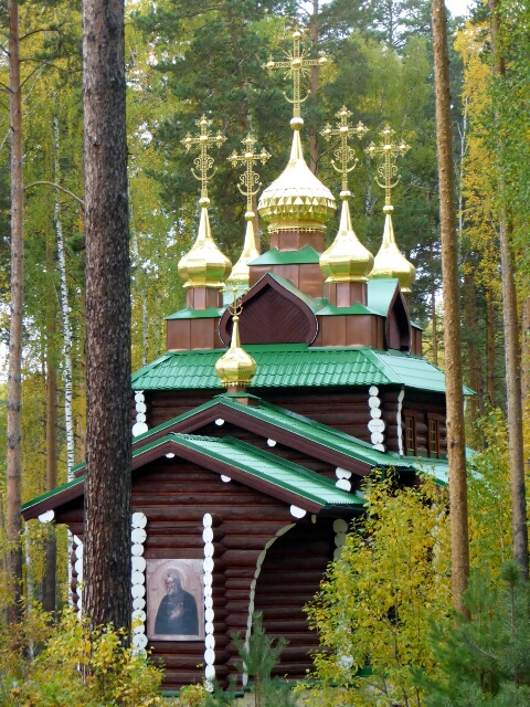 Monastery of Holy Martyrs, an exquisite Monastery deep in the forest ...