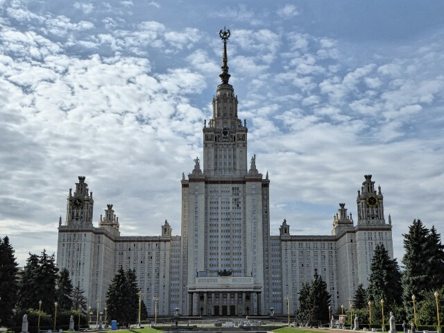 Moscow University, one of Stalin's Skyscrapers, has 5,000 rooms