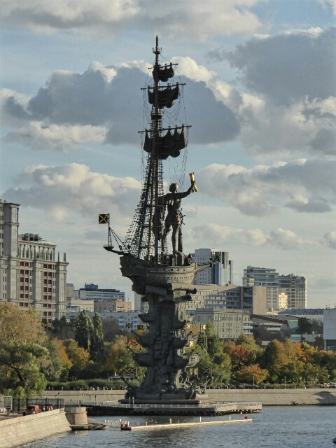 Peter the Great (founder of Russian Navy) or Christopher Columbus?