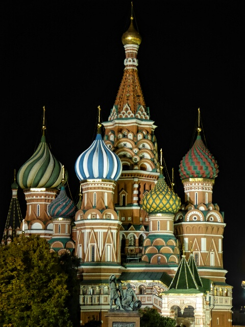St Basil's Cathedral, like no other - built by Tzar Ivan the Terrible in 1561