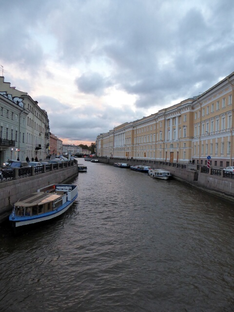 "St Petersburg: ""Venice of the North"" was established in 1703"
