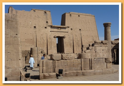 Temple at Edfu