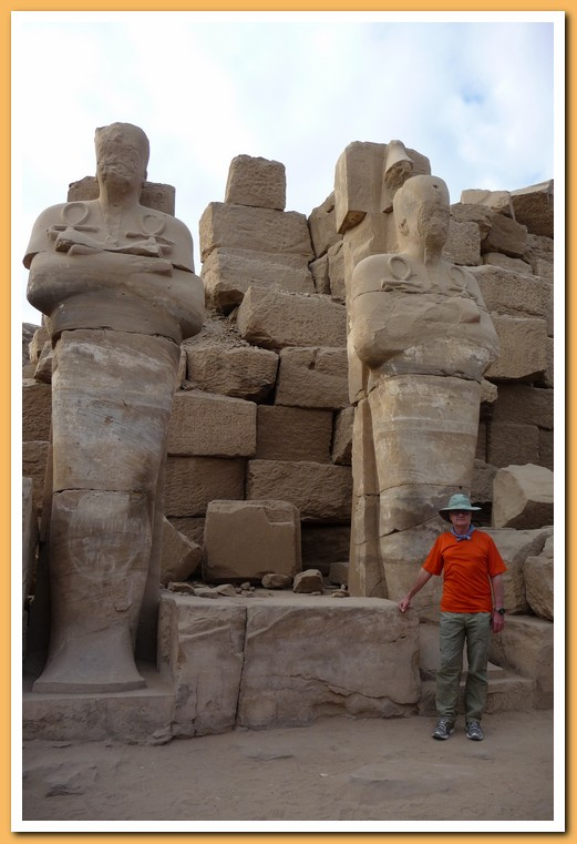 Jeff with the mummies