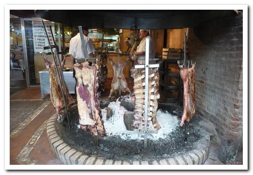 At our favourite restaurant - La Estancia