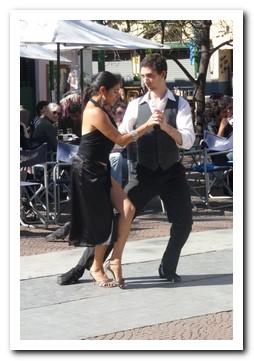 Al fresco tango in San Telmo