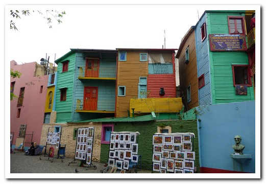 La Boca - first settled by Italian immigrants