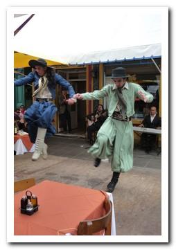 Gaucho dancing