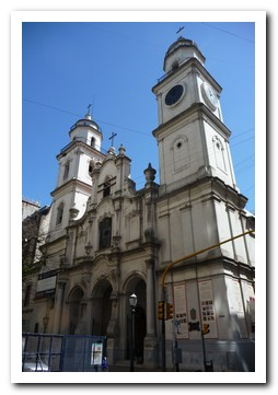 One of the Churches in the centre of Buenos Aires