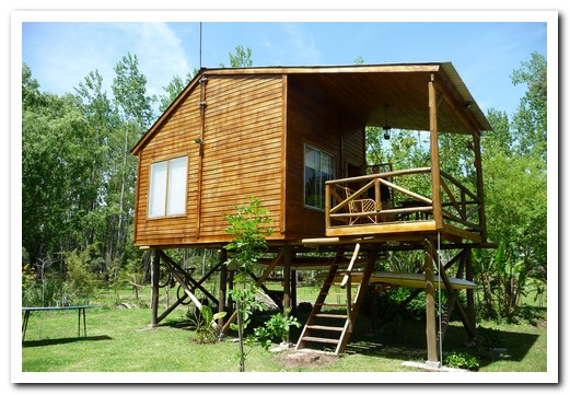 Our cabaña on Isla Chamame