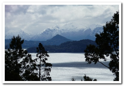 Across the lake from Bariloche