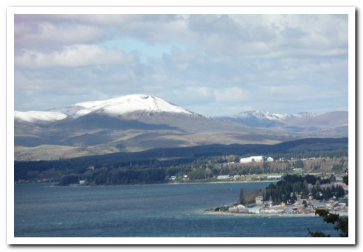 Bariloche on Lake Nahuel Huapi