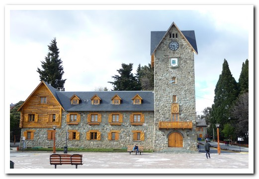 Bariloche center - it was first settled by Germans