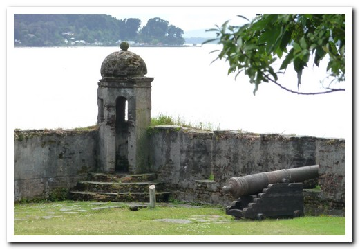 The old Spanish fort at Corral