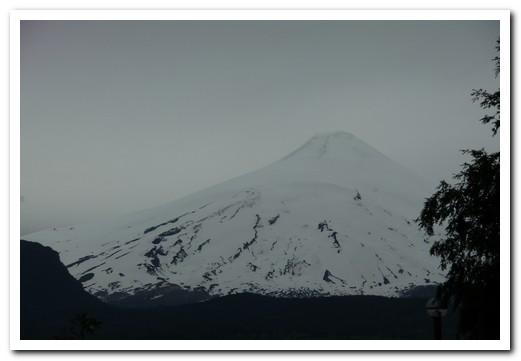 Volcan Villarica from Pucón